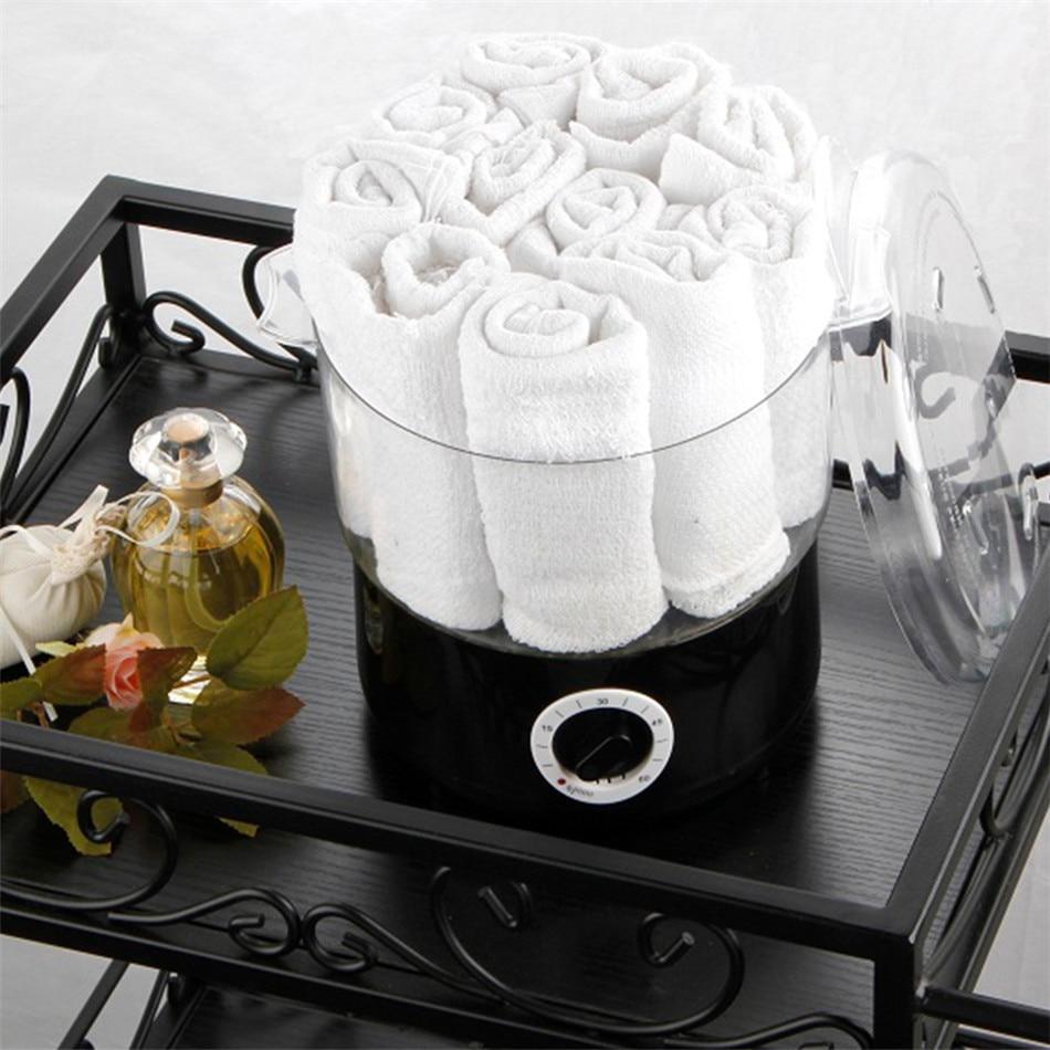 البخار منشفة التدفئة وعاء تبخير العلاج حزمة صالون تجميل مع تبخير وعاء التدفئة الصغيرة الحلاقة صالون الأظافر صالون حلاقة
