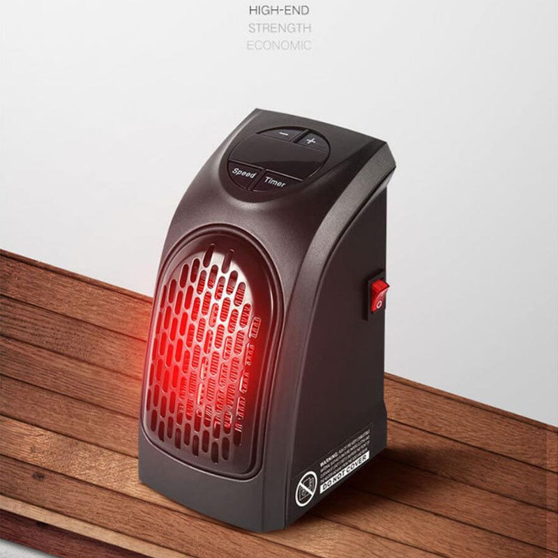 K-STAR Room Warmer Mini Wall Warm Fan Heater Remote Control 400W Electric Handy Heater Temperature Adjustable Portable enlarge