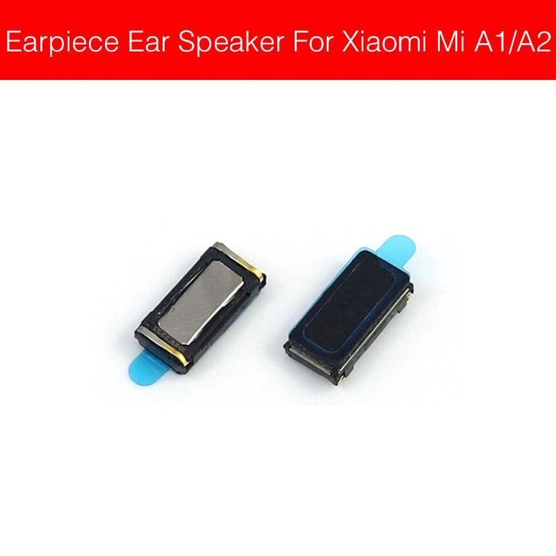 Earpiece Speaker For Xiaomi Mi A1 A2 Pocophone F1 Lite Ear Speaker Sound Earphone Ear Piece Flex  Ribbon Cable Replacement Parts