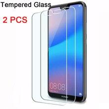 2 шт. Защитная пленка для экрана Huawei P30 Lite P20 Pro 9H HD закаленное стекло для Huawei P 30 20 P30Lite 2019 прозрачная пленка