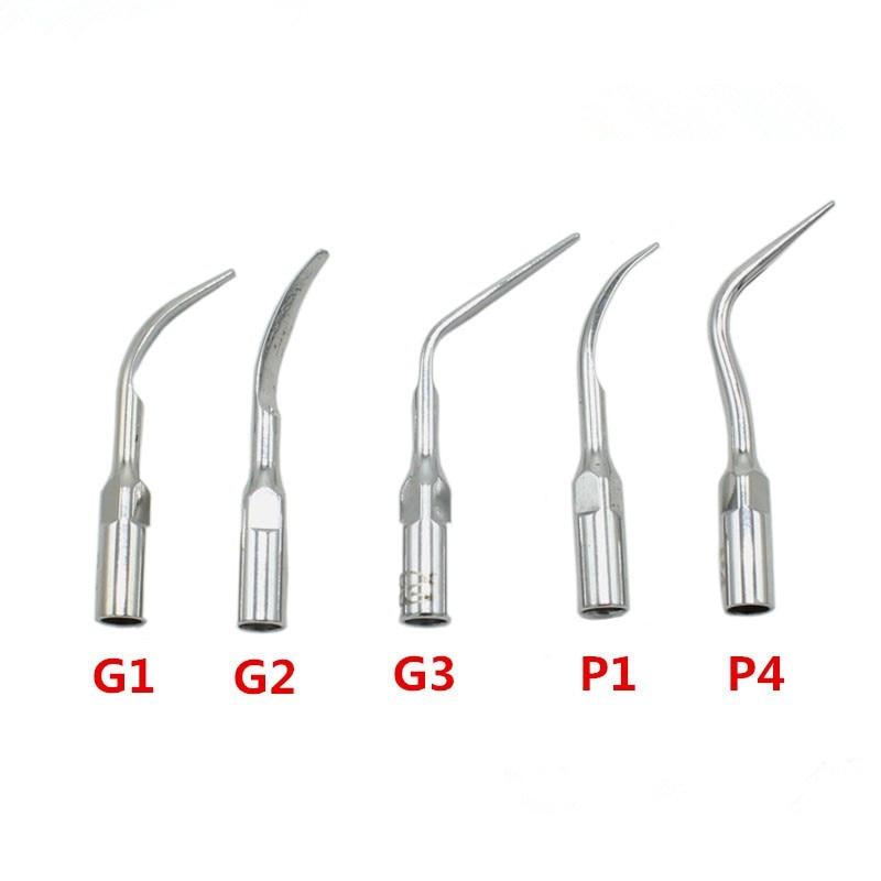 dental endo perio scaling tips for ems ultrasonic scaler handpiece 1pcs G1,G2,P1, G3,P4 Dental Scaler Tips Fit EMS Woodpecker Ultrasonic Scaler Handpiece Dental Ultrasonic Scaler Scaling Tip