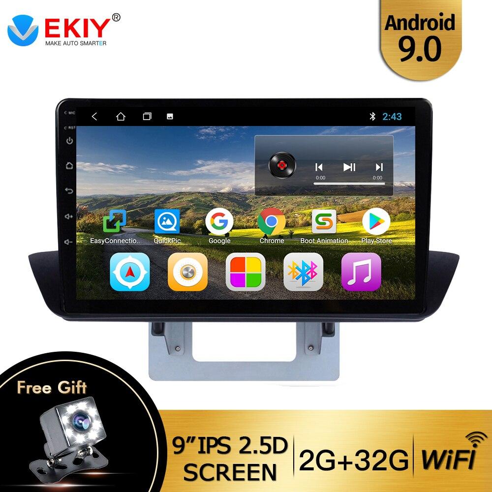 """EKIY reproductor Multimedia de navegación GPS Android 9,0 IPS de 9 """"para Mazda BT50 2012-2018, Radio de coche DVD compatible con controles de volante"""