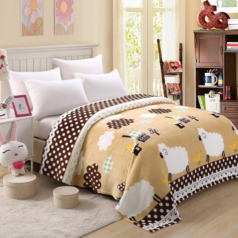 50 manta de colcha 200x230cm de alta densidad Super suave manta de franela para el sofá/cama/coche Plaids portátiles