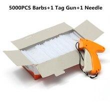 Étiquettes de prix pour vêtements, pour pistolet, Machine à étiqueter, 5000 barbes + 1 aiguille