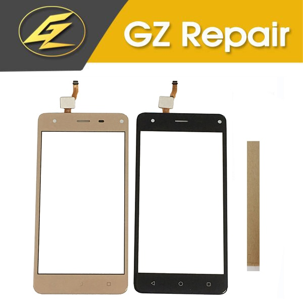 5,0 pulgadas para el honor Grace P5 PSP5515DUO PSP5515 pantalla táctil Panel digitalizador frontal Color negro dorado con cinta