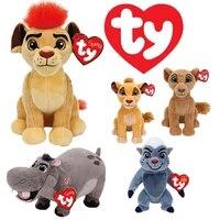 ty beanie big eyes the lion guard king kion simba fuli ono ornaments plush stuffed animals toys doll child christmas gift 20cm