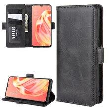 Чехол для OPPO A91 кожаный чехол портмоне на застежке в стиле винтажный магнит Телефон чехол для OPPO F15 Coque