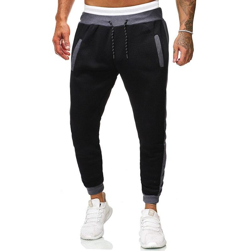 SKU: elastic K41 -- men big yards with slacks sweatpants