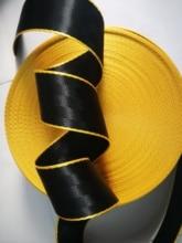 XIMOOR 4M-36M Black-yellow Car Seat Belt Webbing Universal Car Personalized Modification Seat Belt Webbing Car Accessories