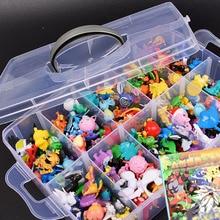 2-3CM 144 Styles différents 24 pièces/ensemble petits jouets chauds Anime pkm Figure Action jouets modèle jouets cadeaux pour enfants cadeaux