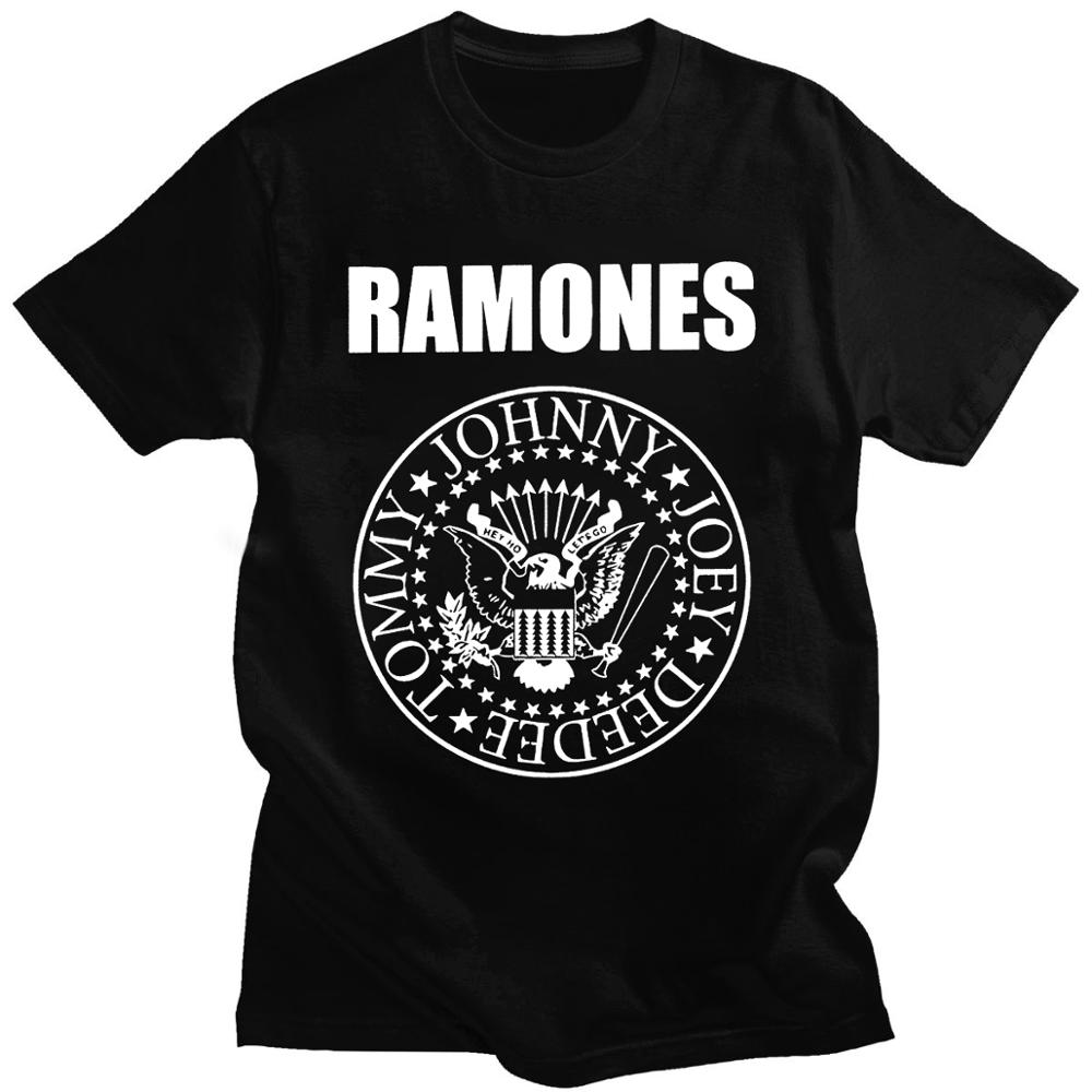 Camiseta con estampado de Ramone sello para mujer y hombre de camisa...