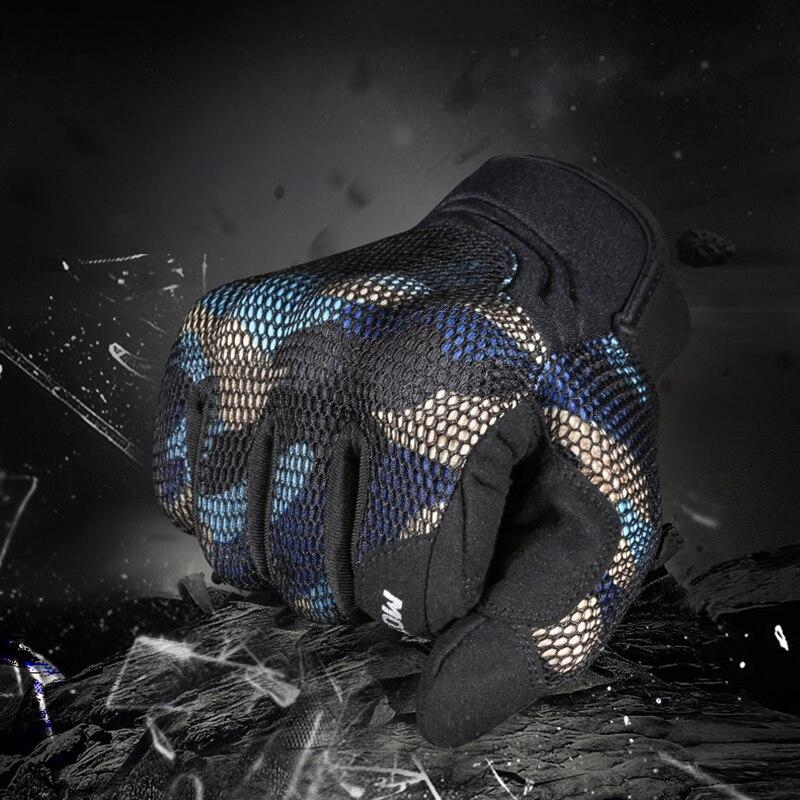 Мотоциклетные Перчатки, автомобильные перчатки, летнее Защитное снаряжение для мотокросса, перчатки для сенсорного экрана, дышащие сетчат...