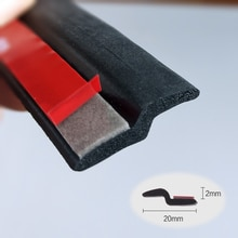 Z образная уплотнительная лента для автомобильной двери, уплотнительная лента, шумоизоляционная Резиновая полоса, отделка автомобильных резиновых уплотнений