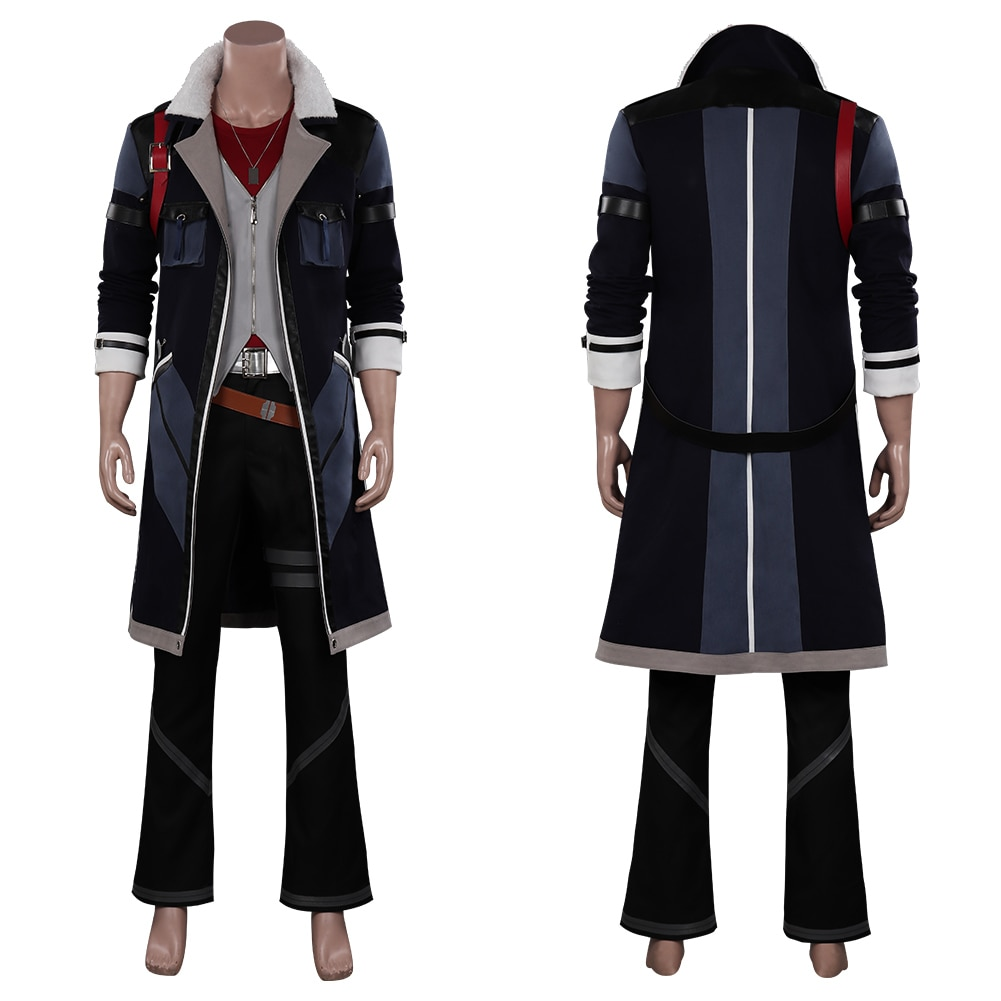 Van Arkride Cosplay TheLegend of Heroes VI Sora no Kiseki Uniform Suit Costume Halloween Carnival Ou