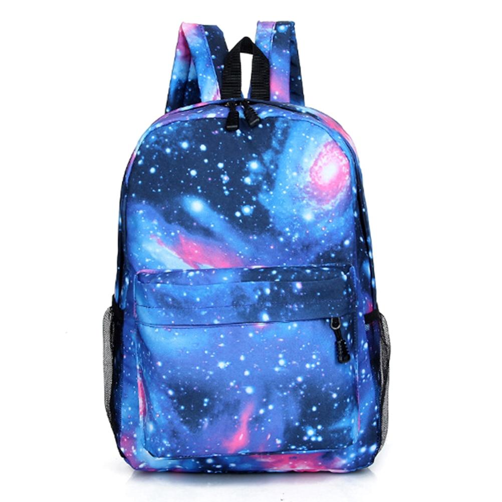Дорожный рюкзак с космическим принтом, школьный рюкзак для подростков, мужской, женский, мужской, Звездный рюкзак для девочек, детская школь...