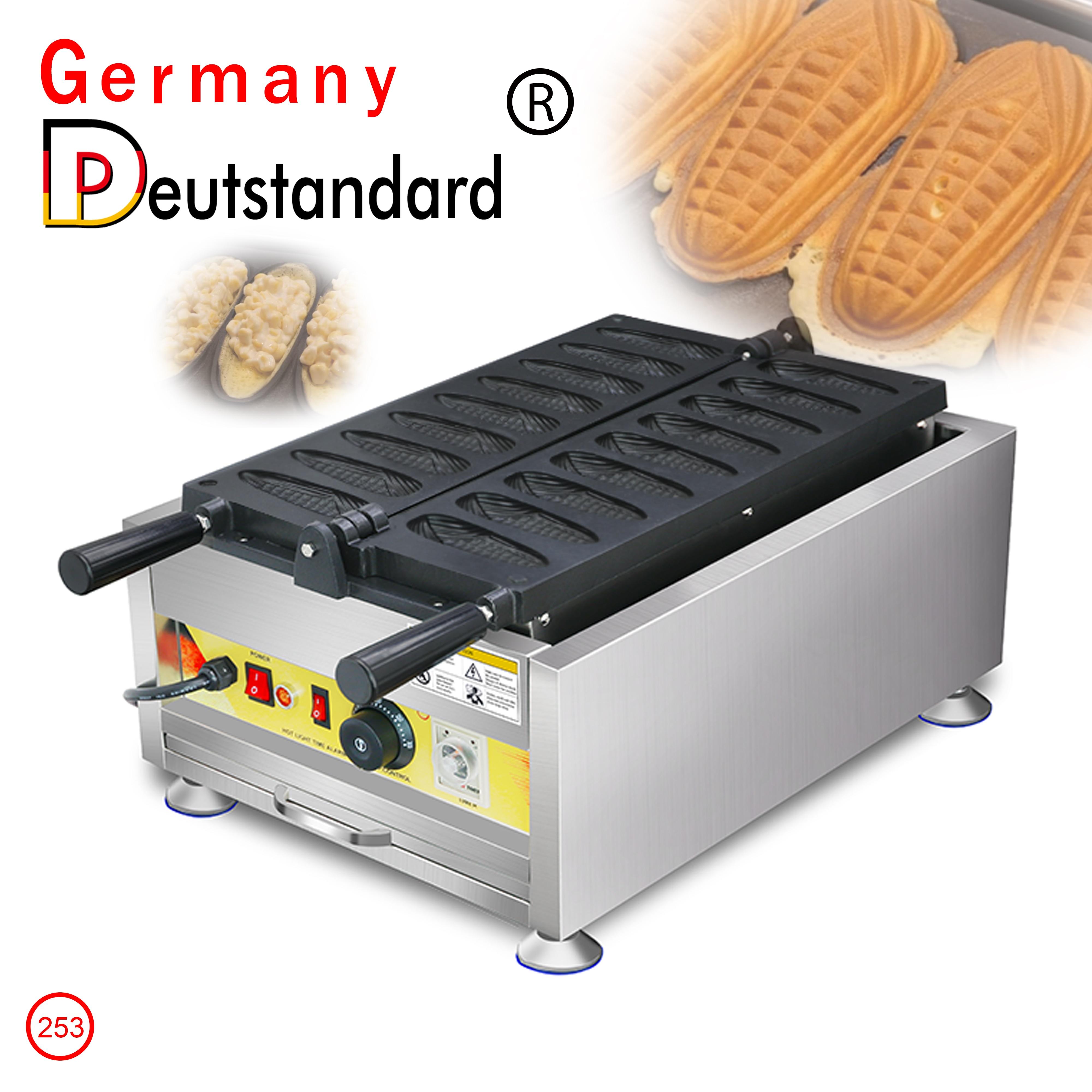 Commercial Electric Non stick Corn Shape Waffle Maker Hot Dog Machine Lolly Waffle Maker Muffin Waffles Pan Baking Equipment недорого