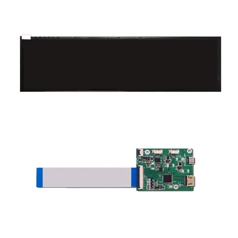 8.8 بوصة قطاع رصد IPS 1920 × 480 شاشة LCD HSD088IPW1-B00 عرض MIPI