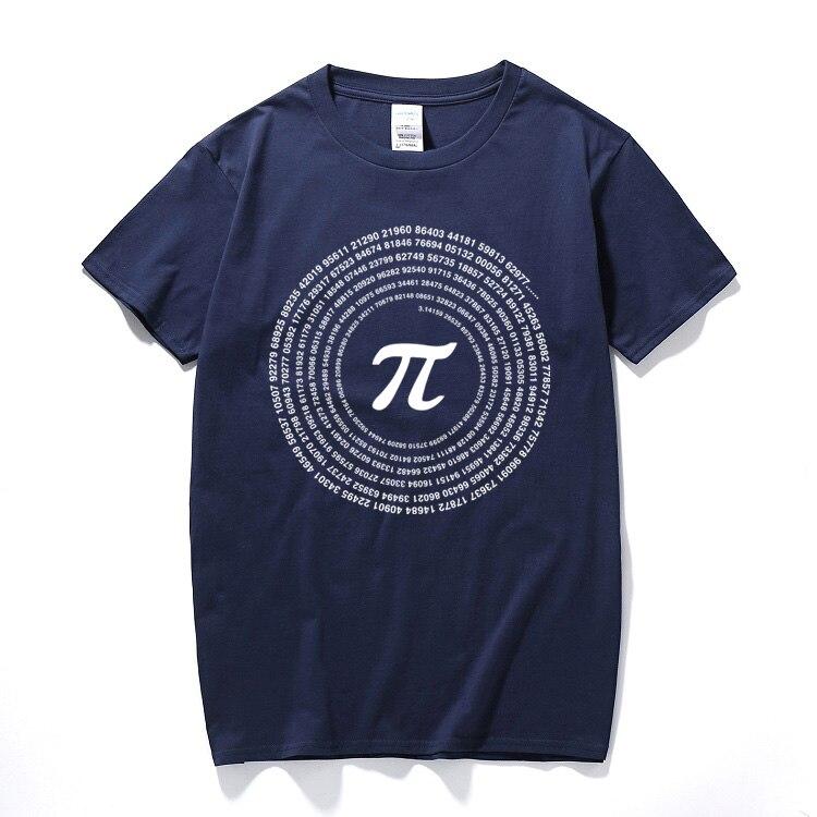 RAEEK, novedad Pi, camisetas de matemáticas, camisetas holgadas de algodón de manga corta para hombre, camisetas de estilo Geek, camisetas informales para hombre, Tops