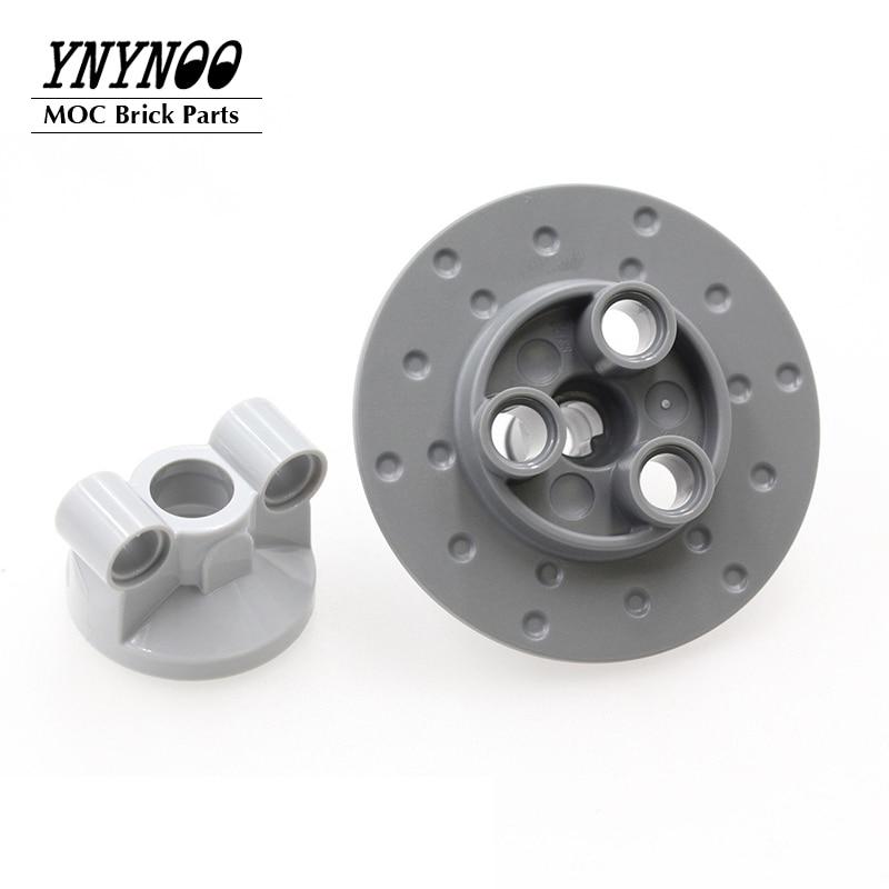 5Pcs/lot Steering Suspension Brake Disc 35189 MOC Building Blocks Bricks DIY Toys Parts Compatible for 11950 32494 23801 11949