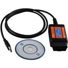 Obd Obdii Obd2 Usb сканер инструмент для диагностики автомобиля инструмент для ошибок сканер считыватель кодов кабель для F Super