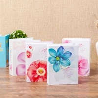 6 inch 100 Pages 4D Interleaf Type Photo Album Picture Storage Frame for Wedding Anniversary Gifts Memory Books