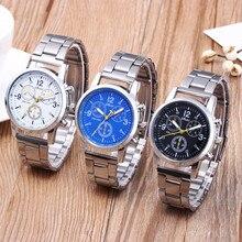 Men Fashion Sport Watches Fashion Band Watch Neutral Quartz Analog Wristwatch Steel Band Watch Quart