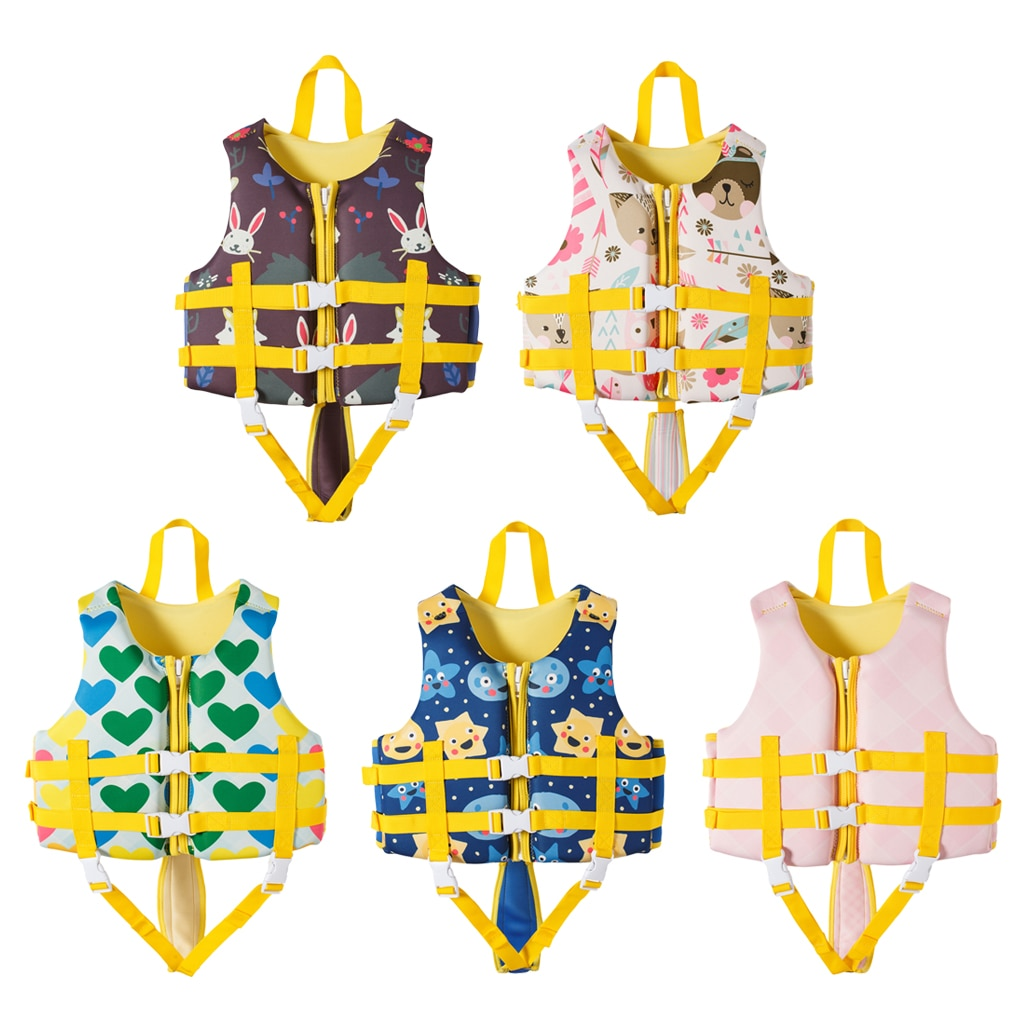 Детские летние надувные плавучие защитные куртки