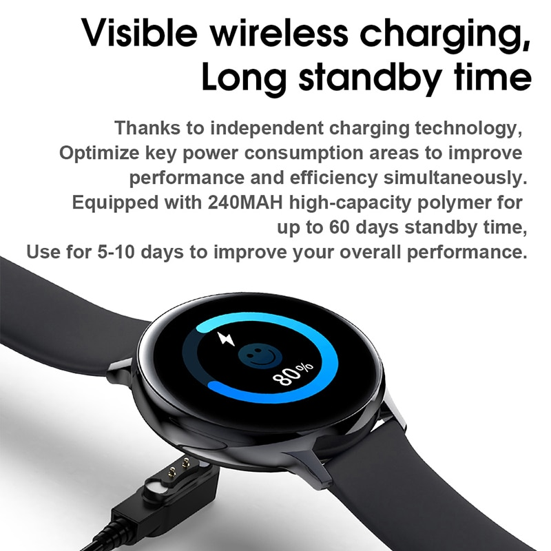 2021 ECG + PPG smart watch men's and women's sports heart rate multi-function fitness bracelet smartwatch for Android IOS enlarge