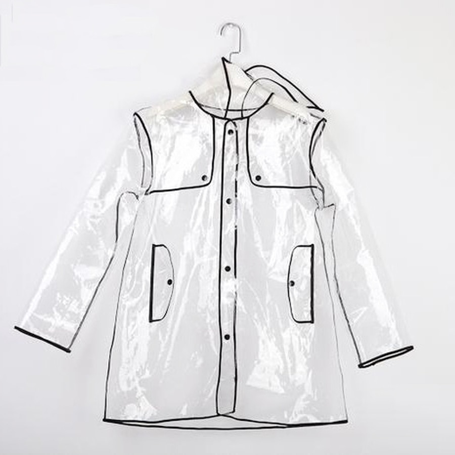 Lightweight Sexy Rain Coat Women Waterproof Jumpsuit Girls Thin Raincoat Women Ladies Plastic Rain Coats Rainwear Women L