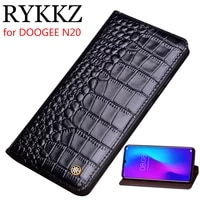 genuine leather flip case for doogee n20 cover magnetic soft shell coque case for doogee n10 y8 cases leather cover phone cases
