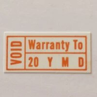30000pcslot 1 5x0 7cm warranty to year month day void if tampered seals label stickers item no v19