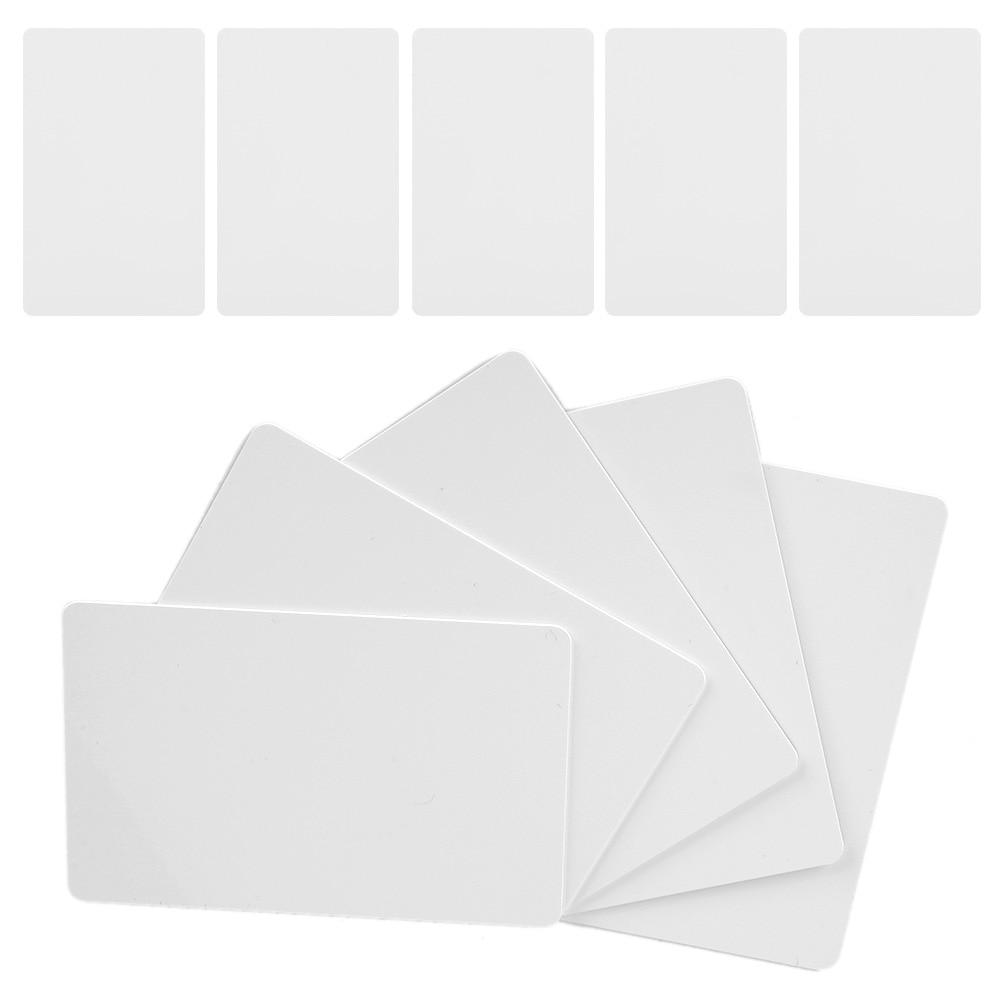 10 Uds NFC Tags 13,56 Mhz NFC Ntag215 tarjetas blancas 504 Bytes lectura escritura