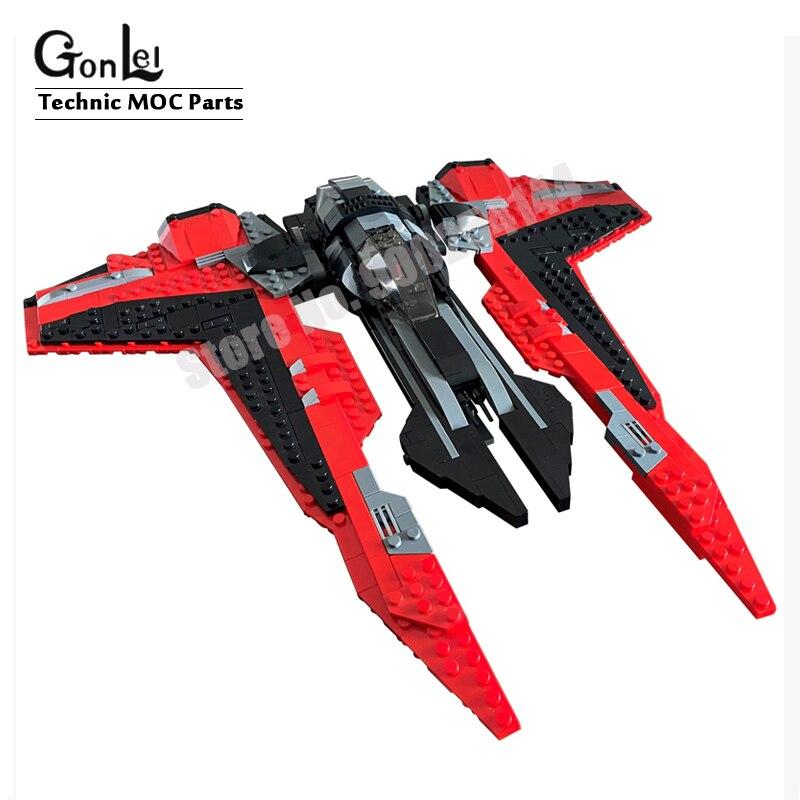 Nuevo Star Wars TIE guante luchador de primer orden Heavy Assault Walker bloque de construcción MOC ladrillos espacio guerras jueguetes de regalo para manualidades