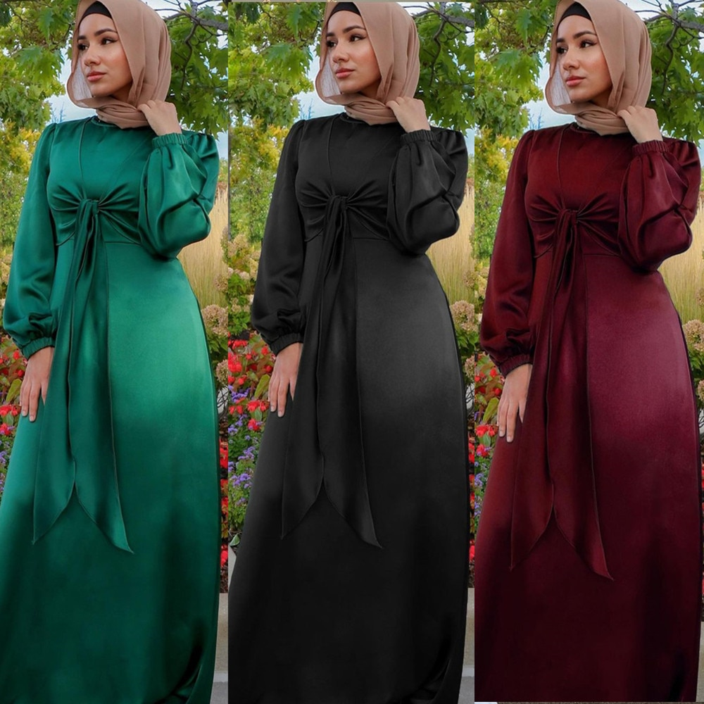 MD Muslim Prayer Dress Women Abaya Malaysia Dubai Turkey Evening Gowns Long Sleeve Kimono Eid Mubarak Pakistani Djellaba Femme