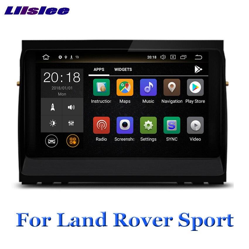 Liislee reproductor Multimedia Android para Land Rover Range Rover Sport 2004 ~ 2008 Radio Audio Video WIFI GPS Navi navegación