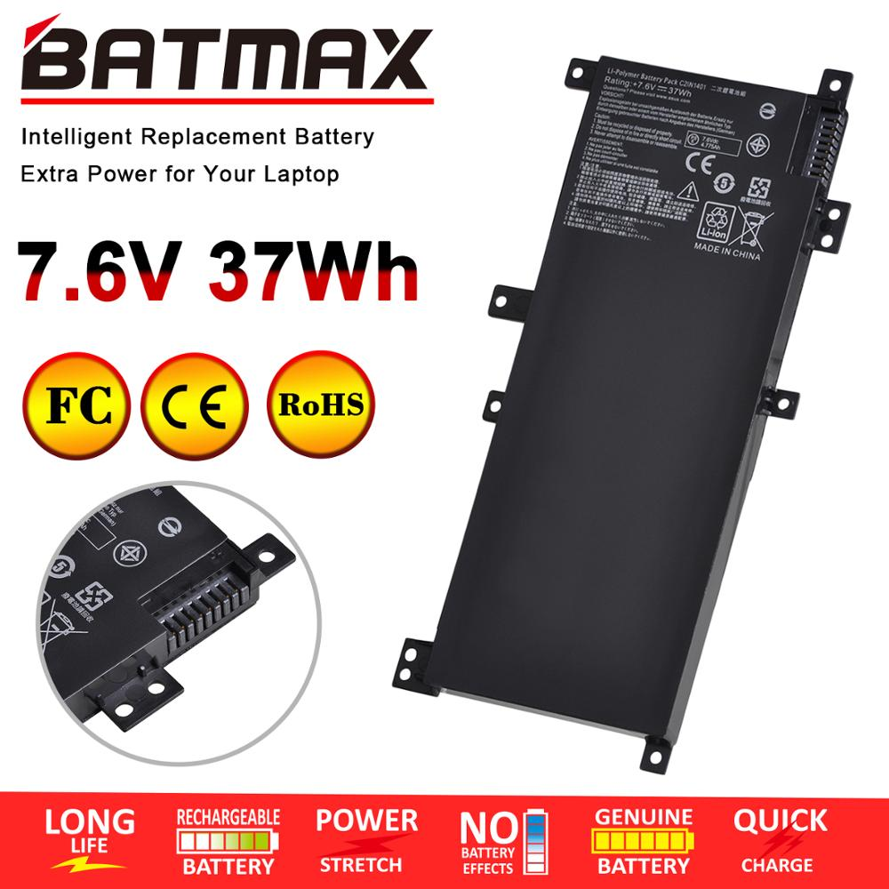 37Wh 7.6V C21N1401 bateria do laptopa asus X455 X455L X455LA A455L A455LD A455LN F455L K455L X454W Y483LD W419L C21PqCH