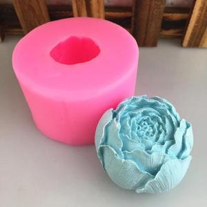 Cabbage Flower Bud Modeling Silicone Mould Soap Handmade Gypsum Epoxy Decoration Decoration Mould Candle