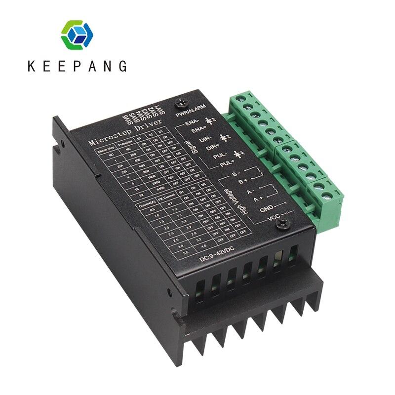 Controlador de Motor paso a paso TB6600 Nema 23 Nema 34 42 57 86 Nema17 4.0A 42V DC Motor máquina de grabado CNC 3D piezas de la impresora