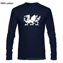 Wales มังกรเสื้อรักบี้ฟุตบอลผู้ชายผู้หญิงเด็ก6 Nations สีแดงด้านบนเวลส์ L10Cool Casual Pride T เสื้อผู้ชาย unisex ใหม...