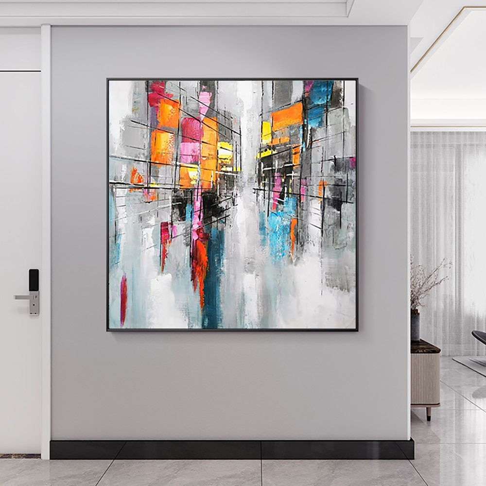 Abstract Modern Oil Paintings For Interior Hand Painted Wall Art Picture Home Decoration Abstract Art Decorative For Living Room