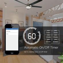 Interrupteur mural Wifi intelligent   Lampe de plafond, interrupteur mural, Life Tuya App, télécommande diverses vitesses, interrupteur de commande, Compatible avec Alexa Google Home