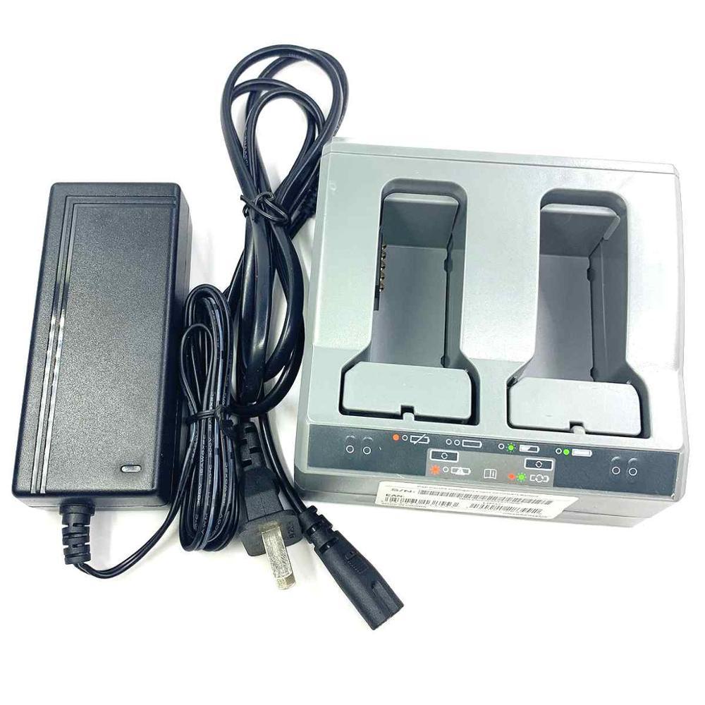 شاحن ثلاثي الفتحات عالي الجودة لـ Trimble R10 R8 S6 SPS985 ، شاحن محطة GPS كامل ، قابس الاتحاد الأوروبي والولايات المتحدة
