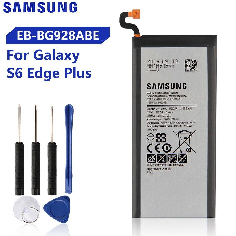Bateria Original Para Samsung Galaxy S6 borda Mais G928P G9287 G928F G928V G9280 SM-G9280 S6edge + Genuíno EB-BG928ABE EB-BG928ABA