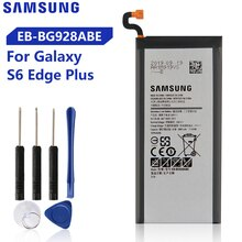 Originale Batterie Samsung Pour Galaxy S6 bord Plus G928P G9287 G928F G928V G9280 SM-G9280 S6edge + Véritable EB-BG928ABE EB-BG928ABA