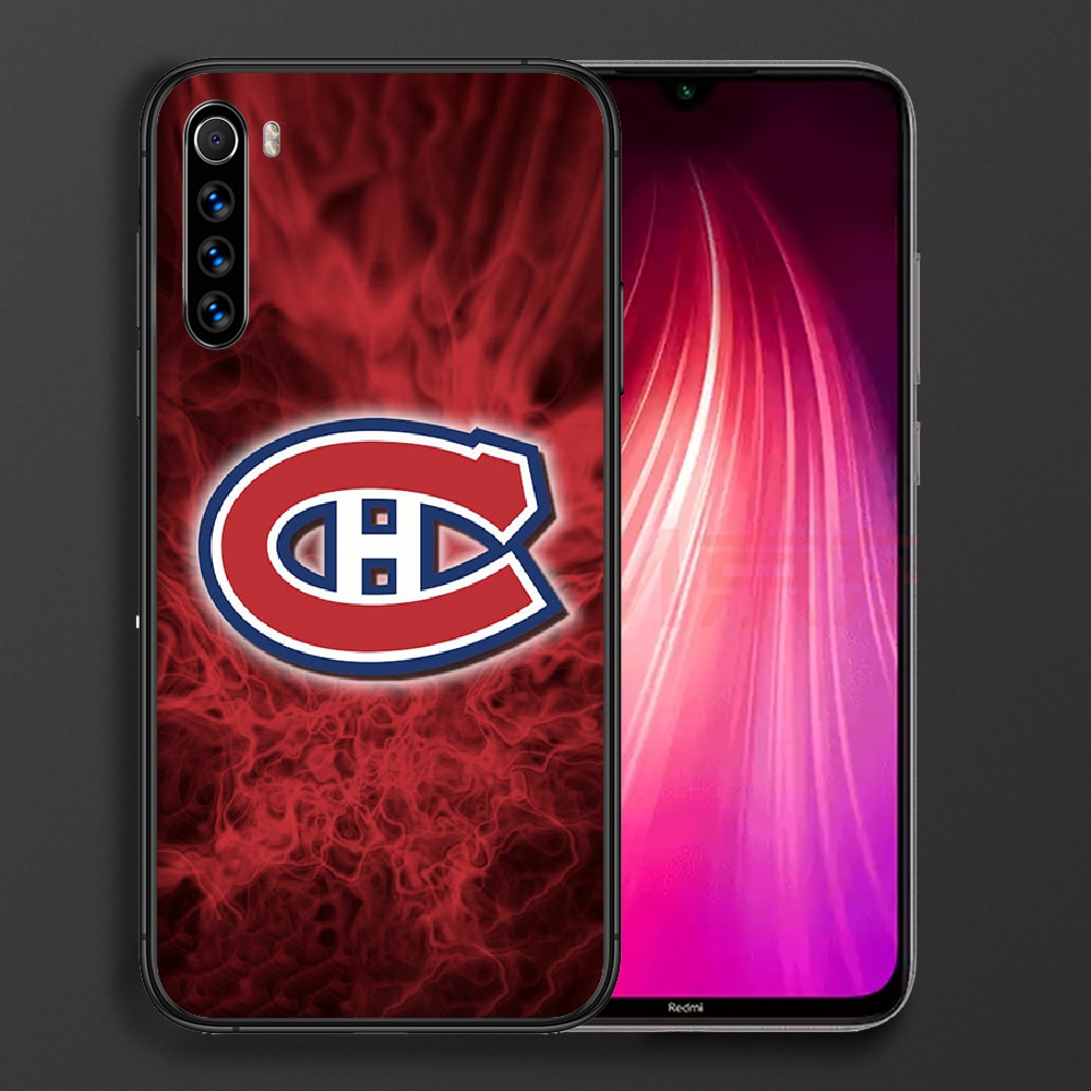 Montreal Ice Hockey Canadien Phone Case For Xiaomi Redmi Note 7 8 8T 9 9S 4X 7 7A 9A K30 Pro Ultra black Prime 3D Funda Tpu  - buy with discount