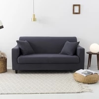 elastic polyester sofa cover luxurious skirted down knitted fabric cover protective cover 1234 seat