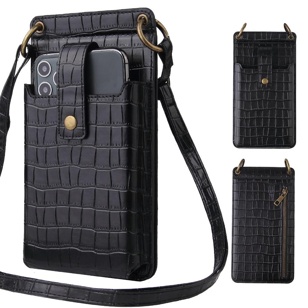 Phone Small Crossbody Bags Fashion Women Mini PU Leather Shoulder Messenger Bag For Girls Bolsas Ladies Phone Purse Zipper Flap