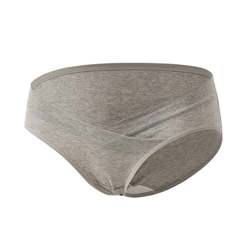 1000 pcs Women Clothing Pregnant Women 's Low-waist Underwear Seamless Soft Care Abdomen Underwear Pregnancy Panties enlarge