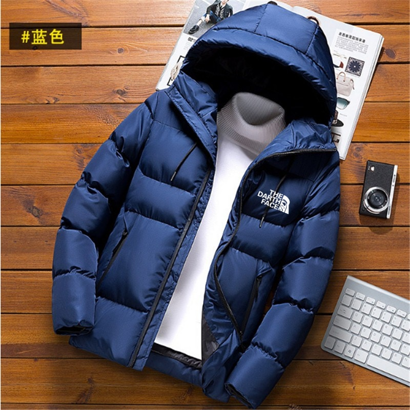 Men's Warm Coat, Leisure Sports Coat, Long Sleeve Hat Winter Hot Suit New Products in 2020