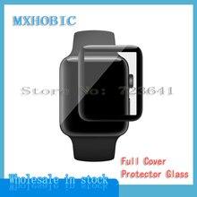 Закаленное 3d стекло для Apple Watch 5 4 3 2 1, защитная пленка с полным покрытием для Iwatch 40 мм 44 мм 38 мм 42 мм, 10 шт.
